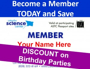 Become a Member Birthday Parties