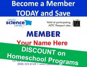 Become a Member Home School Discount